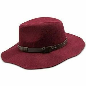 NWT INC International Concepts Maroon Floppy Hat